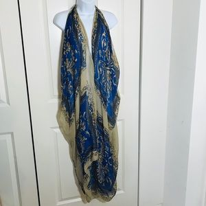 Long Scarf Wrap/ Coverup